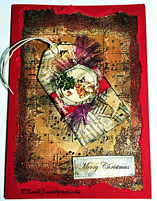 christmas card tutorial 16