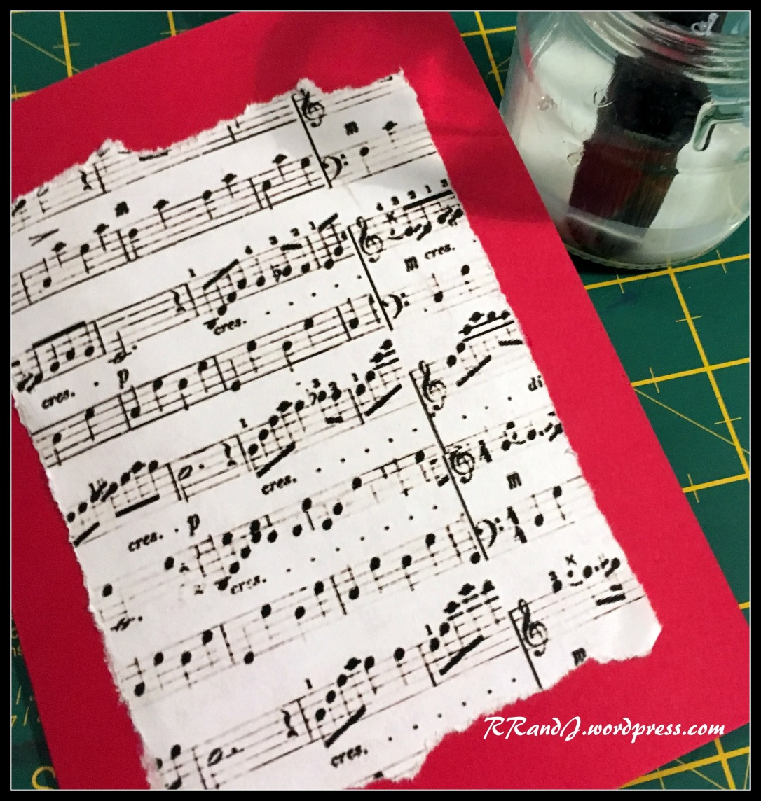 christmas card tutorial 2