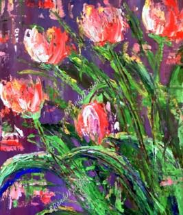 Pink Tulips RRandJDesigns 7