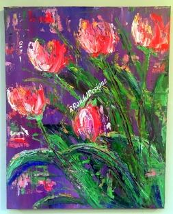 Pink Tulips RRandJDesigns 9