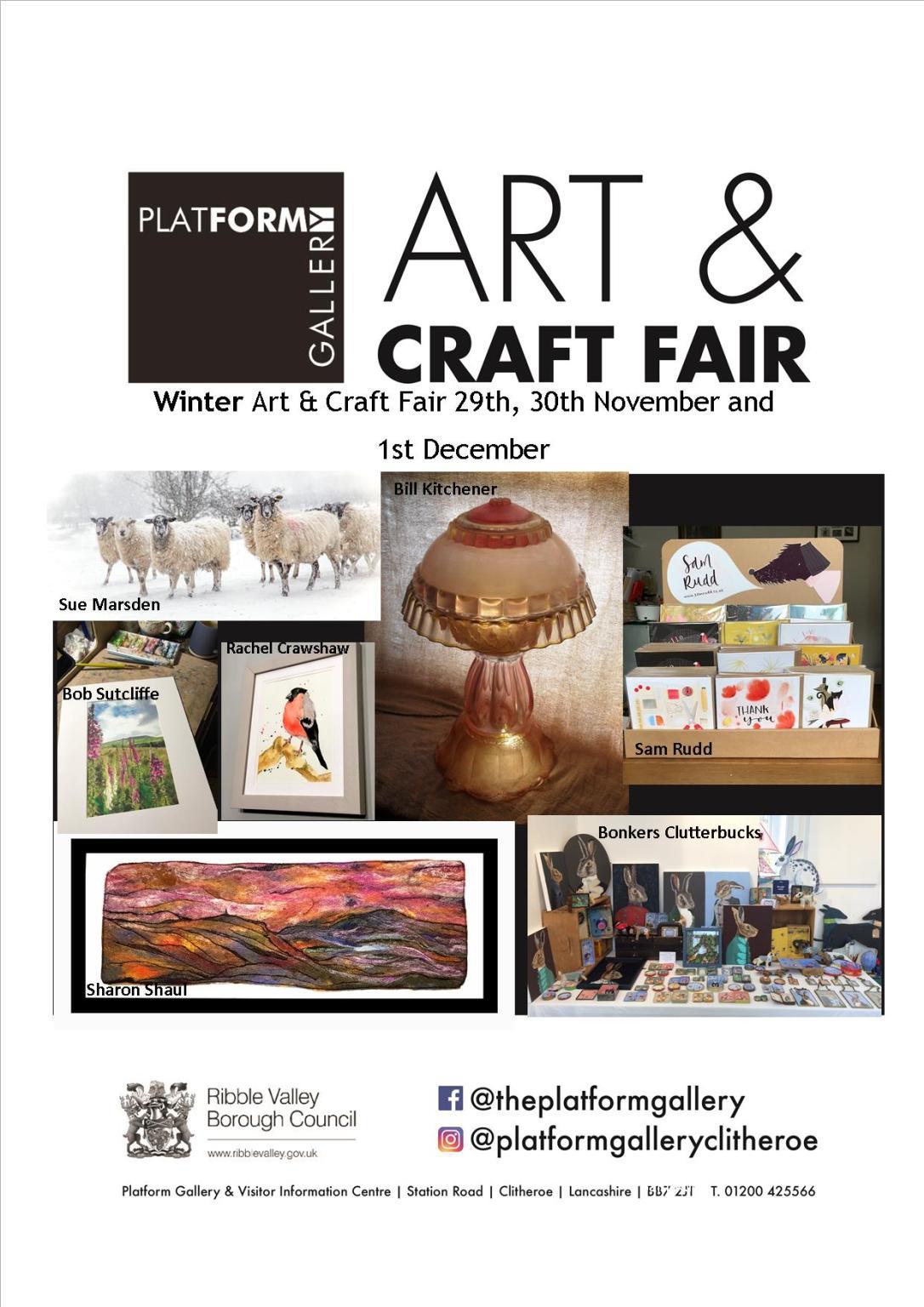 Winter Art & Craft Fair Poster 2